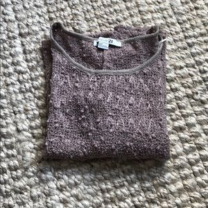 Forever 21 top, size small